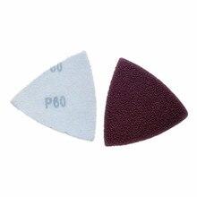 Универсальные аксессуары с сокровищами треугольная наждачная бумага красный песок флокированные тканые Nap самоклеющиеся поперечные границы стиль не пористые 8