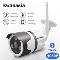 1080P IP Camera Wi Fi Outdoor Wireless WiFi Waterproof Camera Yoosee CCTV Security Surveillance Two Way Audio Wi Fi Camara Cam