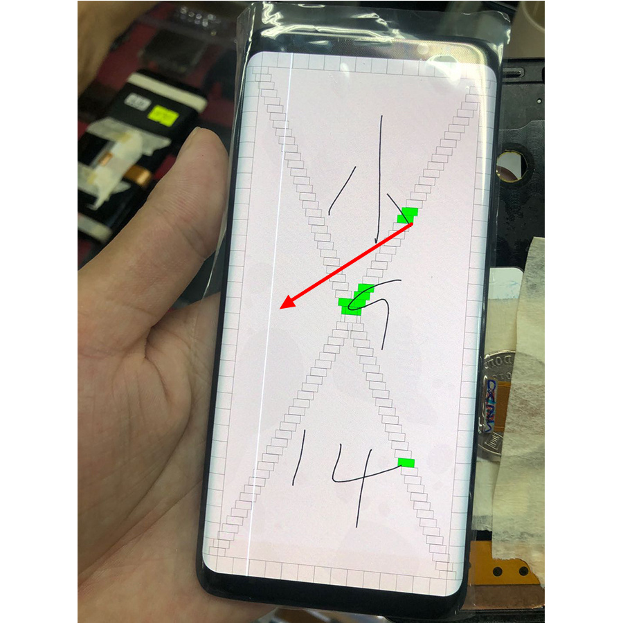 AMOLED For Samsung S9 LCD Display Touch G960 G960U G960W Display For Samsung S9 Dead Pixels LCD Display+Touch Screen Digitize