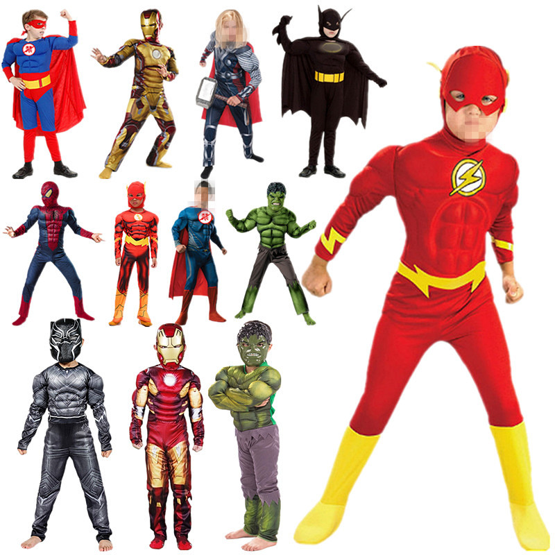Kids Spider Boy Far From Home Peter Parker Cosplay Costume  The Avenger Superhero Muscle Costume Halloween & Christmas Spree