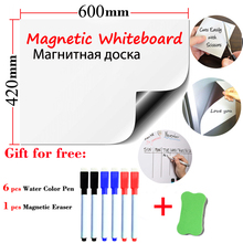 Size 420*600mm Soft Whiteboard School Dry Eraser for Child Message Board Fridge Stickers Kids Board message board memo boards