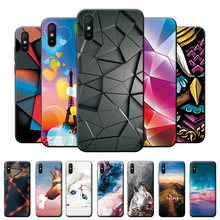 For Xiaomi Redmi 9A Case Redmi 9C Silicone Soft Fashion Back Cover For Xiaomi Redmi 9AT Phone Case TPU Bumper on Redmi 9 9A 9C