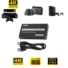 Graphics-Card OBS HDMI Grabber Video-Capture-Card Game Live-Streaming-Broadcast 1080P