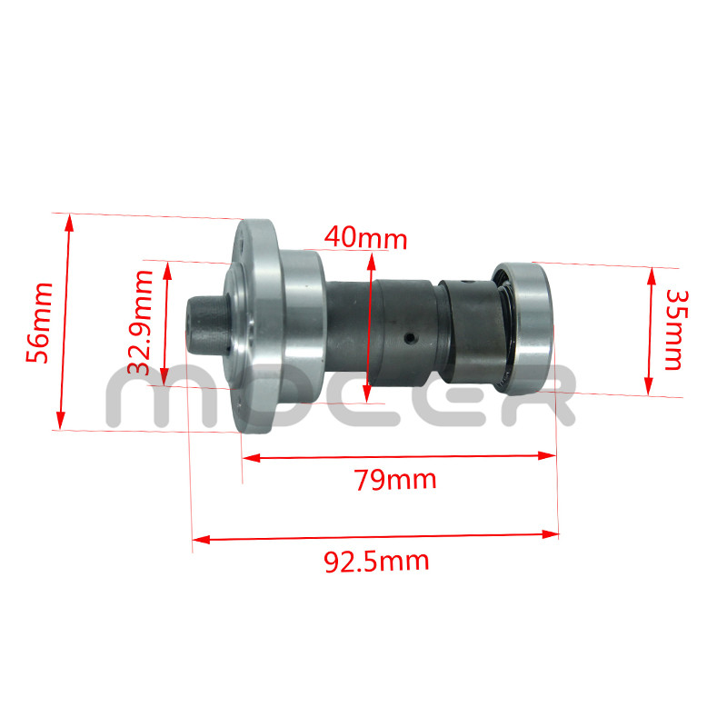 High Performance Camshaft for <font><b>250cc</b></font> CB250 Air cooled Fit For Zongshen Loncin Off Road and <font><b>Reverse</b></font> <font><b>Engine</b></font> GT-115 image