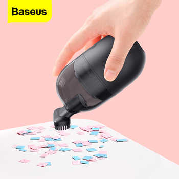 Baseus C2 Portable Vacuum Cleaner Keyboard For PC Computer Handheld Wireless Car Vacuum Powerful Cyclonic Suction For Home Desk - DISCOUNT ITEM  35 OFF All Category