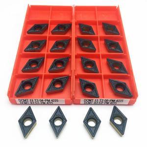 Image 5 - Ferramenta de torneamento dcmt11t308 pm 4225 dcmt11t304 pm 4225 carboneto de torneamento interno ferramenta inserção dcmt 11t304 dcmt 11t308 ferramenta de trituração