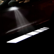 Car Welcome Lights For Mercedes Benz W213 W205 GLC Rearview Mirror Ambient Light Decor Lamp Shadow Projector Courtesy Step Light