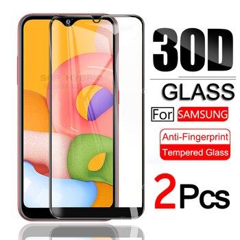 Перейти на Алиэкспресс и купить 2 шт Защитное стекло для samsung Galaxy A01 A 01 Защита экрана на Sansung Samsumg A01 A 01 закаленное стекло SM-A015F/DS Sklo