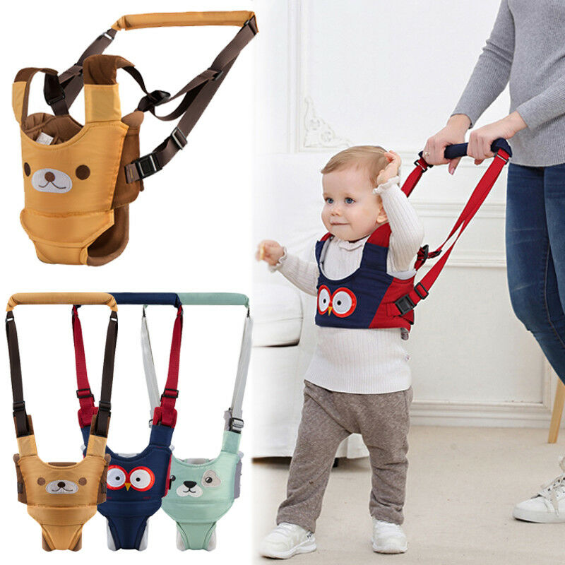 2019 Toddler Baby Harness Walking Assistant Learning Walk Safety Belt Harness Walker Wings Kid Boy Girl Leashes 6-24M