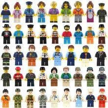 60pcs/set Model Building Blocks Accessories Toys Hobbies Cit