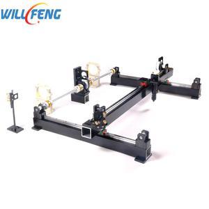 Image 3 - จะ Feng 1200x800 มม.DIY ทั้ง Mechanical ชุด 80 W 100 W เลเซอร์ Linear Rail คู่มือประกอบ co2 เครื่องแกะสลักเลเซอร์