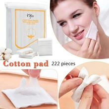 222PCS Cleansing Cotton Pad Soft Daily Supplies Facial Makeup Remover Tool Eyebrow Eyeshadow Nail Art Cleaning