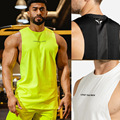 new Brand Bodybuilding Cool Fluorescent Colors Tank Top Men Gyms-clothing Stringer Fitness Gyms Shirt Muscle Workout Tank Top