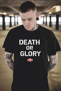 The Clash Death or Glory T-Shirt Punk/New Wave. Ideal gift for Dad!