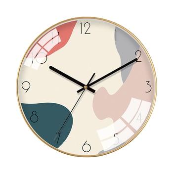 Nordic Bedroom Cartoon Wall Clock Cute Modern Design Wall Clocks Decorative Watches Living Room Watch Wall Clock Decor II50BGZ