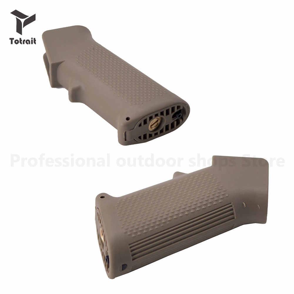 Totrait punho para arma de paintball ar15 m4 m16, jinming8, jinming gen9, airsoft, arma de ar, rifle bd556 ttm acessórios