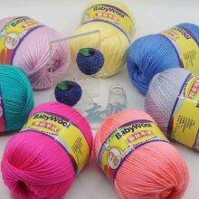3pcs Silk Cashmere Baby Wool Yarn Silk Protein Cashmere Hand Woven Foreign Trade Medium Coarse Wool  50g Yarn Yarn for Knitting