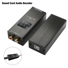 FX Audio FX 01 USB DAC كارت الصوت محلل شفرة سمعي أخذ العينات معدل العرض SA9023 PCM5102 24BIT 96K