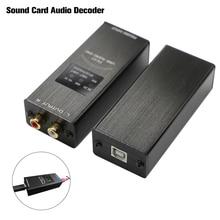 Fx Audio FX 01 Usb Dac Geluidskaart Audio Decoder Sampling Rate Display SA9023 PCM5102 24BIT 96K