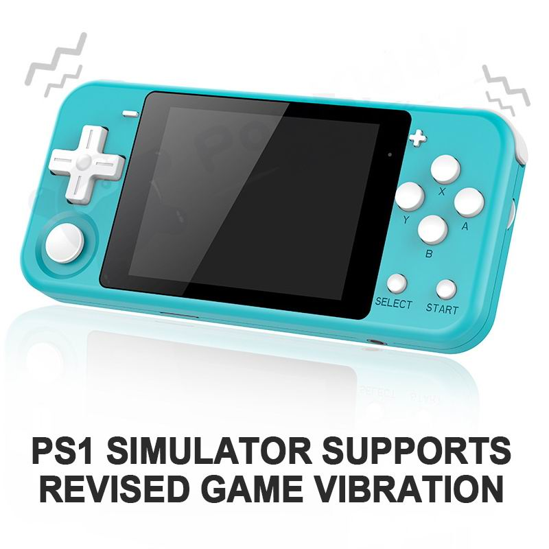 Q90 Retro Game Console Open Source Dual System 16GB 3 inch HD IPS Screen Built-In 3000 Games Handheld Game Console 12 Simulators image