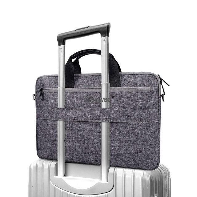 Dla CHUWI HeroBook LapBook Pro 14.1 Hi9 HI10 Plus 10.8 UBook Pro 12.3 AeroBook 13.3 11 15 cal Notebook torba na Laptop na ramię przypadku