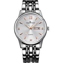 Mechanical Wristwatches Luminous Stainless Steel Mens Watch