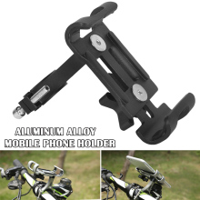 Hot Aluminum Alloy Bike Bicycle Handlebar Stand Mount Holder Bracket for Mobile Cell Phone MVI-ing rockbros aluminum alloy bike bicycle handlebar extended holder for speedometer light phone bicycle accessories extended mount