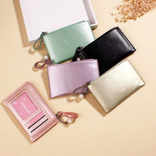 Women Wallet For 2019 Casual Fashion New Women Short Wallets Mini Money Purses Fold Coin Mini Purse Card Holder High Quality#916(China)