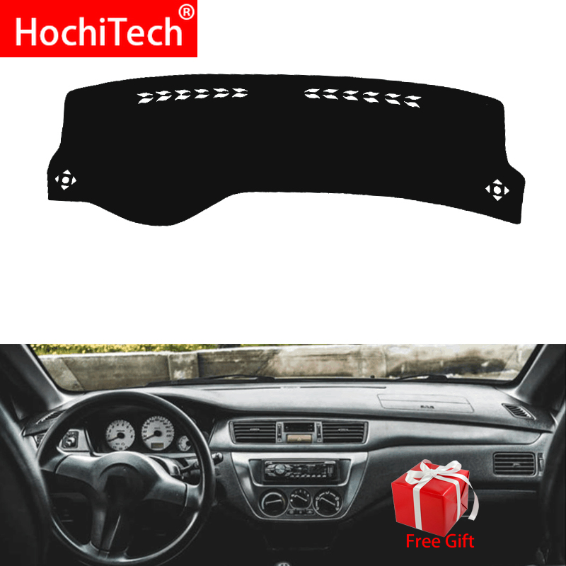 For Mitsubishi Lancer 9 GLX Interior Accessories Auto Car Dashboard Cover Dash Mat Board Pad Carpet Dashmat Anti-UV Mats