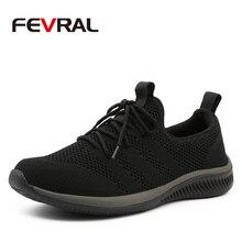 Fevral Mannen Casual Schoenen Beroemde Comfortabele Sneakers 2020 Zomer Herfst Trainers Mannelijke Ademend Lichtgewicht Schoenen Maat 39 44