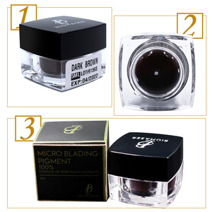 Image 5 - BIOMASER Microblading Ink Pigment Tattoo Ink Brand Permanent Makeup Pigment for Eyebrow Eyeliner lip 100% Plant Material