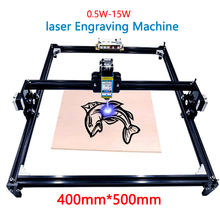40x50 laser engraver 0.5 1.5w DIY mini laser engraver for wood plastic leather stainless  steel etc laser cutter Marking plotter