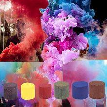 Píldoras de humo de colores, píldoras de combustión con efecto de niebla, bomba de humo, accesorios de fotografía portátiles, accesorios de fiesta de Halloween, suministros para escenario