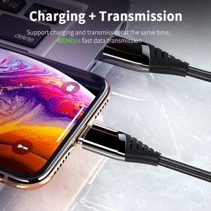 Image 3 - Essager מגנטי מיקרו USB כבל עבור iPhone 12 Xiaomi mi 3A מהיר טעינת USB סוג C מגנט מטען USBC סוג C נתונים חוט כבל