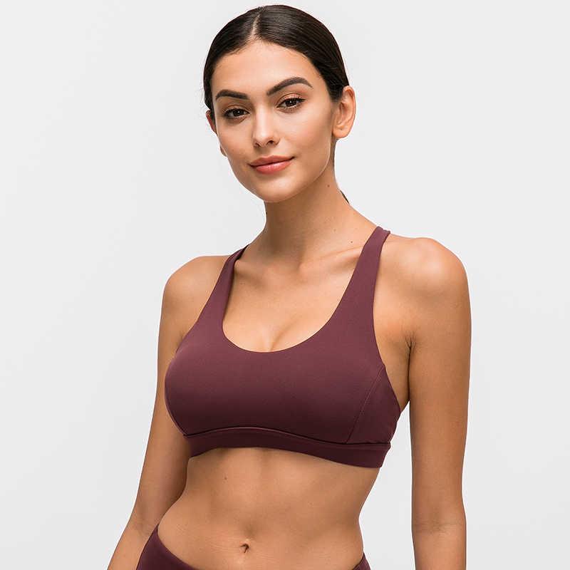 Colorvalue جميلة Strappy و تجريب الرياضة حمالات الصدر قمم النساء عارية-يشعر اللاسلكية اليوغا اللياقة البدنية حمالات الصدر مبطن رفع رياضية قمم