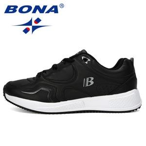Image 4 - BONA החדש מעצב פרה פיצול ריצה נעלי גברים סניקרס להקפיץ חיצוני ספורט נעלי מקצועי אימון נעלי גבר אופנתי