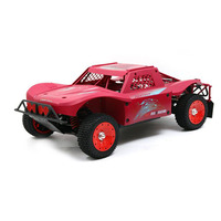 1:5 Scale 2.4G 4WD High Speed RC Gasoline Short Course Truck Off Road Vehicle Red/Black/Blue