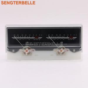 Image 1 - Nouveau 6.3 Double pointeur amplificateur de puissance VU mètre DB niveau Audio compteur de puissance avec rétro éclairage et tension
