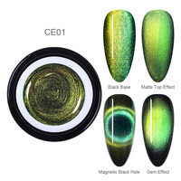 01-9D Cat Eye UV Gel