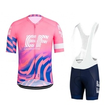 2020  pink pro tour team ef cycling jersey set Bicycle maillot breathable MTB quick dry bike clothing Ropa ciclismo 9D gel pad стоимость