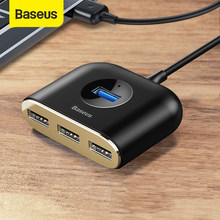 Baseus USB HUB USB 3,0 HUB Typ C HUB zu USB 3,0 für MacBook Pro Air 2020 USB 2,0 HUB LED USB Splitter für Huawei Notebook HUB