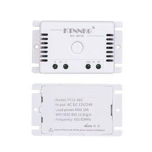 Image 2 - TUYA interruptor de césped de riego inteligente con Wi Fi, 1CH 24V DC 12V 36V 10A 433 Mhz receptor de relé remoto para control de voz DIY LED