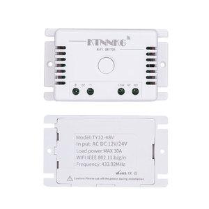 Image 2 - Tuya Thông Minh Thủy Lợi Sân Cỏ Công Tắc Với Wi FI, 1CH DC 12V 24V 36V 10A Remote 433 MHz Tiếp Nhận Điều Khiển Giọng Nói DIY Led
