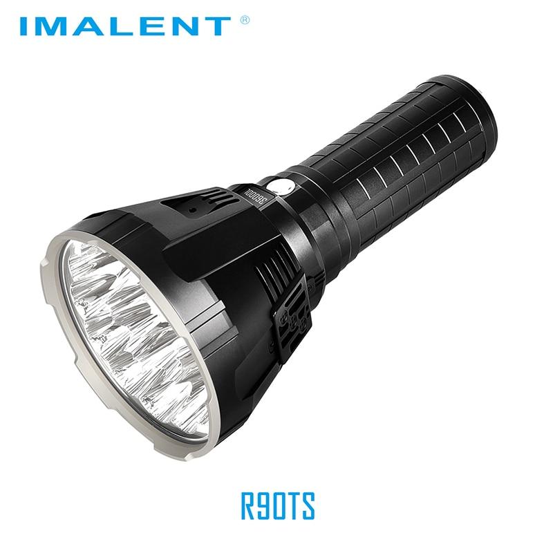 Linterna LED Original IMALENT MS18 + Set de cabeza R90TS CREE XHP35 HI/CREE XHP70.2 100000 LM luz de Flash recargable para buscar - 3