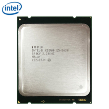 Intel Xeon E5 2630 Processor 2.3GHz 15M Cache LGA 2011 95W SR0KV E5-2630 Server CPU tested 100% working