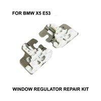 2000-2015 CR نافذة كليب لسيارات BMW X5 E53 منظم للنوافذ إصلاح كليب مع مزلق معدني الجانب الأيمن الأمامي