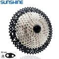 SUNSHINE MTB Cassette 8/9/10/11/12 Speed 32/36/40/42/46/50/52T Mountain Bicycle Freewheel Bicycle Sprocket For Shimano/SRAM