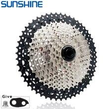 SUNSHINE – pignon de Cassette vtt 8/9/10/11/12 vitesses 32/36/40/42/46/50/52T, roue libre, pour Shimano/SRAM