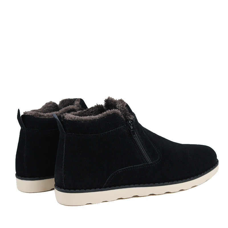 Hot koop Mannen Snowboots Winter Goedkoop Schoenen Mode antislip Warme Laarzen Man Sneakers Enkellaarsjes Mannen Winter laarzen Plus Size