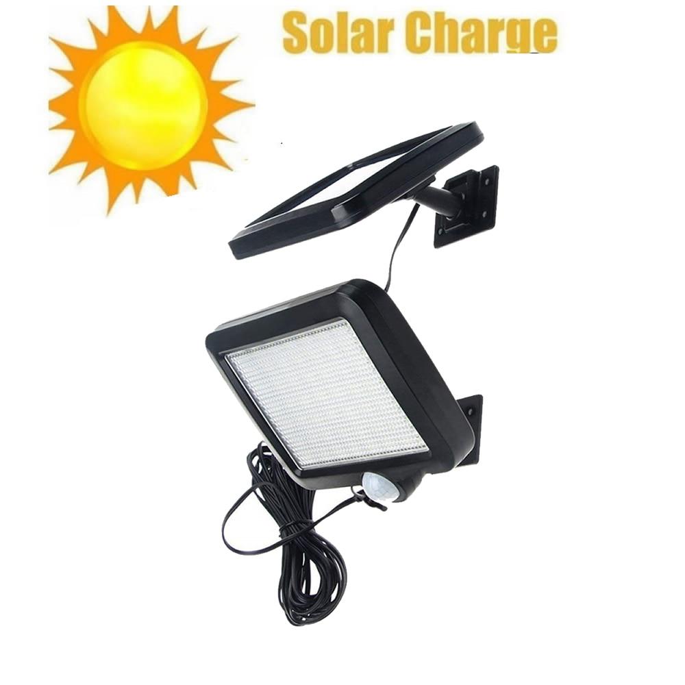 56/30 LED Solar Lamp Outdoor Waterproof IP65 PIR Motion Sensor Solar Powered Garden Light Wall Lamp Infrared Sensor Chandelier